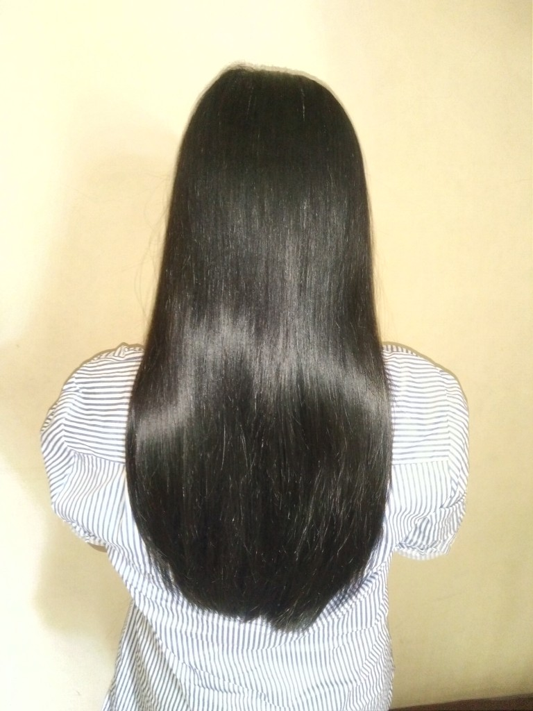 LONG BALCK HAIR