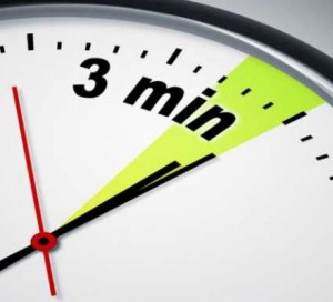3 MINUTES1